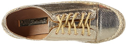 Xti 30155, Sneakers basses femme Or - Gold (Oro)