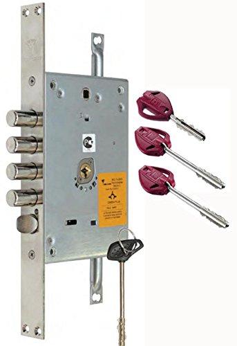 MUL-T-LOCK OMEGA PLUS 3 POINT LOCKING 3 KEYS(83mm) HIgh Security Lock