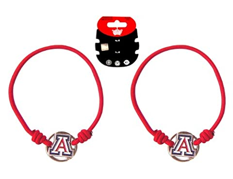 NCAA Arizona Wildcats Stretch Bracelet & Hair Tie,