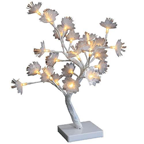 Heavy-duty-licht-timer (FiedFikt Deko-Lampe, nordische Windfaser, 2 W, Licht, Blumen-Baum, USB, klein, NightfiedFikt New Nordic Wind Fiber Dekorative Lampe 2 W Light Flower Tree USB Small Night)