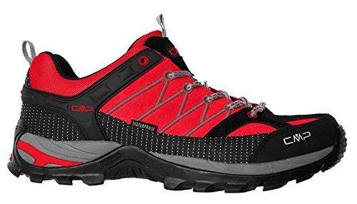 CMP RIGEL scarpe da trekking & escursioni da donna, Rot (CAMPARI/MINERAL GREY 723P), 36 Rot (CAMPARI/MINERAL GREY 723P)