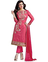 New Fancy Best Collection And Party Wear Dress Material For Women (Un_Stiched) New Designer Perfect Embroidery...