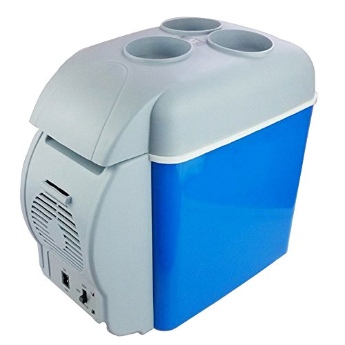 LLX Refrigerador del Coche 7.5L Mini Coche Refrigerador Coche Hogar Pequeño Refrigerador del Coche Calefacción Y Refrigeración Caja Portátil Refrigerador
