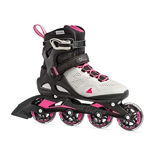 Rollerblade Damen MACROBLADE 80 W Inline-Skate, cool Grey/Candy pink, 260