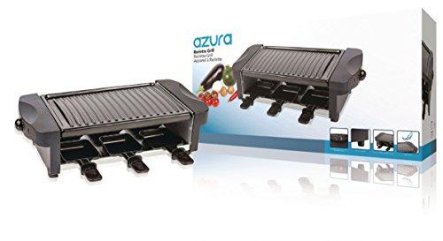 Grill para raclette para 6 personas con termostato