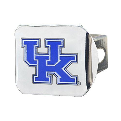 FANMATS NCAA Herren Farbe Anhängerkupplung-Chrom, Herren Unisex-Erwachsene Damen, University of Kentucky, Team Color, Einheitsgröße (Anhängerkupplung Kentucky)