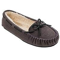 Minnetonka Women's Cally Slipper,Grey,8 M US