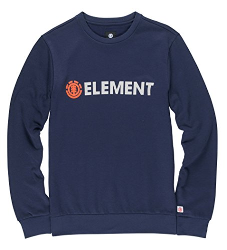 Element Herren Blazin Crew Sweatshirts eclipse navy