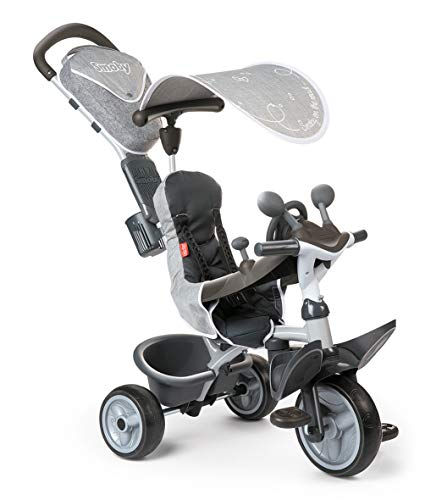 Smoby - 741202 - Tricycle Baby Driver Confort 2 - Tricycle Evolutif...