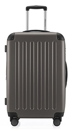 HAUPTSTADTKOFFER - Spree - 3er Koffer-Set Trolley-Set Rollkoffer Reisekoffer Erweiterbar, TSA, 4 Rollen, (S, M & L), Graphite,235 Liter - 5