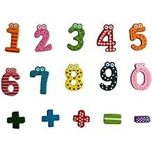 Juguete del bebé, RETUROM Nuevos números magnéticos de madera Math Set juguetes educativos para niños bebé