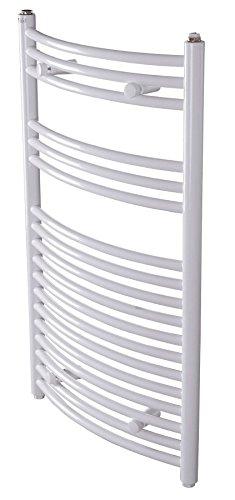 Fabriqué en acier blanc chauffage central radiateur de chauffage pour bain salle de bain 535x490mm