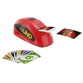 Mattel Games V9364 - UNO Extreme Kartenspiel mit Kartenwerfer, geeignet für 2 - 10 Spieler, Spieldauer ca. 15 Minuten, ab 7 Jahren