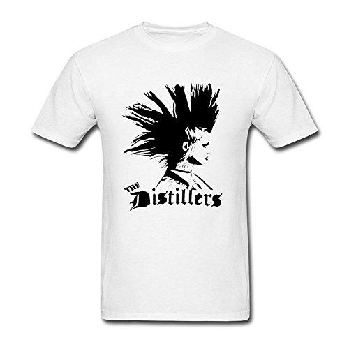 Herren's The Distillers Rock Band T Shirt Large