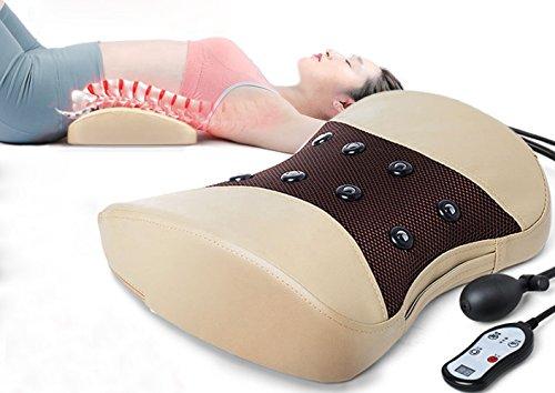 WCP GJY lumbalen Bandscheibenvorfall Gerät - Lendenwirbelsäule Muskelzerrung Lendenwirbelscheibe prall Bauchtrainer - Krümmung Home-Massage-Physiotherapie-Instrument - Airbag-Anpassung,A,Behandlung