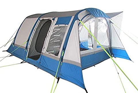 Olpro Cocoon Breeze Inflatable Campervan Awning - Blue/Grey, 240