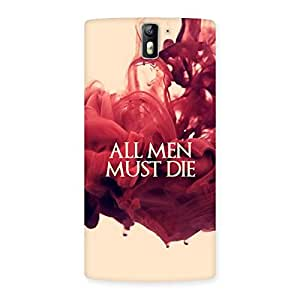 Neo World All Men Back Case Cover for OnePlus One