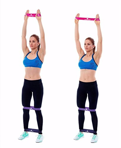 Waterrags Premium Glute Activation Bands | Set of 3 Exercise Resistance  Loop Bands | Perfect for Gym & Home Training - Cellulite Reduction - Joint