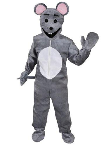 Maus Ratte Einheitsgrösse L - XL Kostüm Fasching Karneval - Top 10 Maskottchen Kostüm