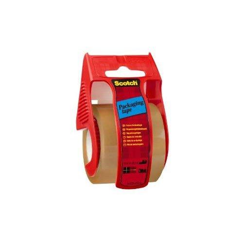 Scotch cinta de embalaje marron+dispensador 48x20 cm. ref.70005181469