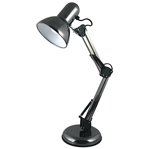 lloytron-hobby-desk-lamp-black-chrome-adjustable-40w-reach-350mm-h560mm-black-ref-l946bh