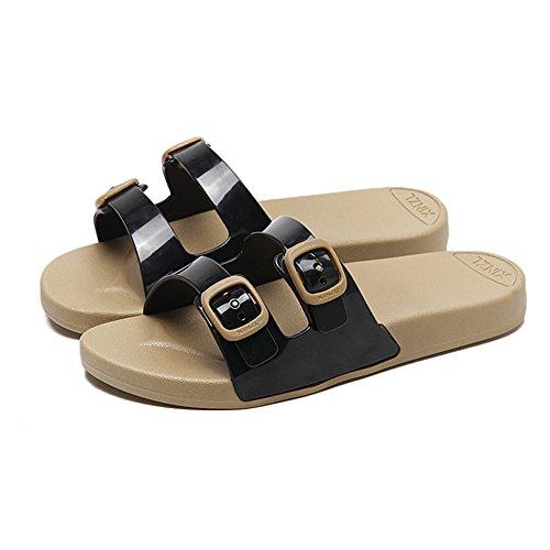 Piattaforma Infradito In Estate/Antiscivolo Scarpe Da Spiaggia/Fondo Piatto Che Indossano Sandali E Pantofole G