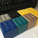 Sgabelli arredo Studio, Sgabello da Bar in Spugna Comfort Sgabello da Bar in KTV Home Sedile cubo di Rubik 0515 (Colore : Gray)