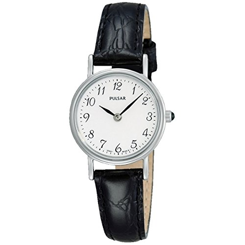 Pulsar Womens Quartz Watch, Analogue Classic Display and Leather Strap PTA511X1