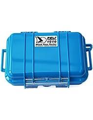 Peli 1010 Micro Dry - Caso con tapa transparente, color azul