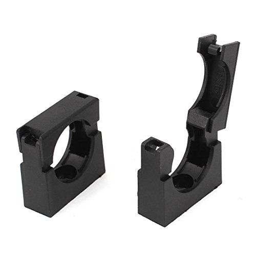 Sourcingmap-® Montaje Fijo Tubo Clip Clamp Soporte 2pcs para AD28.5Corrugado Conduit
