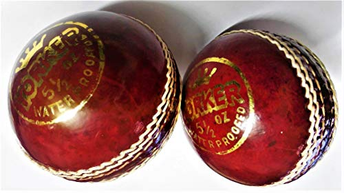 Forever Online Shopping Set Of 2 Yorker Leather Cricket Ball 2 Part