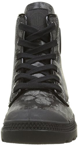 Palladium Pampa Hi Flo F, Baskets Hautes Femme Noir (315 Black)