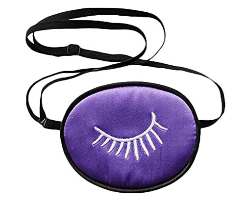 Amblyopie Oeil Patches Pour Enfants Soft Silk Material - Purple