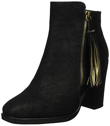 Another Pair of Shoes Damen AlinaE1 Kurzschaft Stiefel, Schwarz (BLACK01), 39 EU