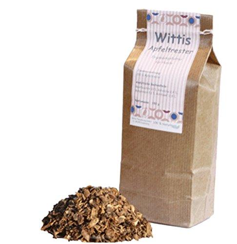 Wittis Supplement Apfeltrester 150g, Futterergänzungsmittel für Hunde
