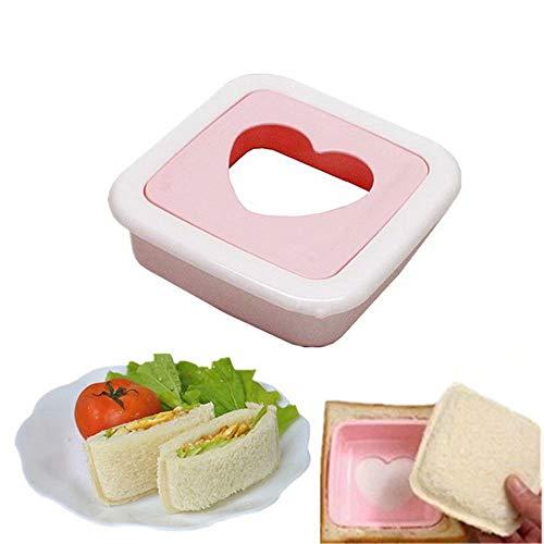 Ei Sushi Reisform Bento Maker Sandwich Cutter Dekorieren Form, Herzform Kinder Reis Ball Form DIY Werkzeug Küche -