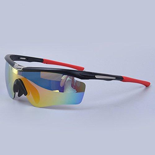 TianXY Für Männer Frauen Radfahren Reiten Golf Freizeit UV-Schutz Sport-Sonnenbrillen Baseball-Brillen Polar Bewegung,D