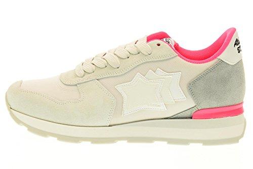 ATLANTIC STARS scarpe donna sneakers basse VEGA CP 86FF Grigio chiaro