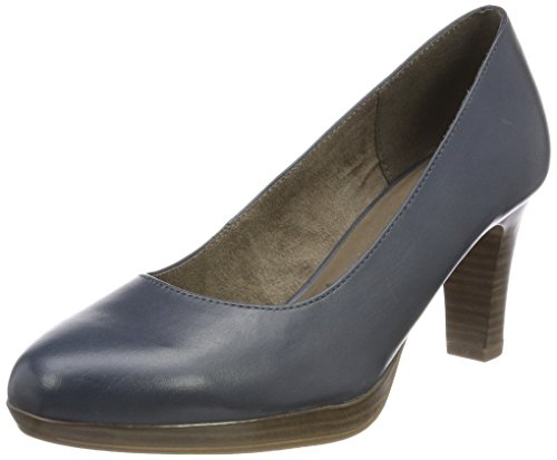 Tamaris Damen 22410 Pumps, Blau, 40 EU