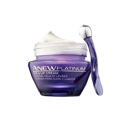 Avon - Anew platinum, crema de labios y contorno de ojos, 15 ml