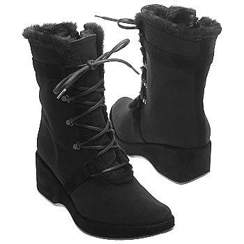 UL28854 Stuart Weitzman Chaussure mi montantes Femme Cuir Noir Noir