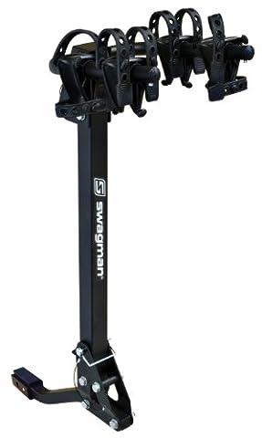 "Swagman Trailhead 2 Bike Fold Down Rack (2"" & 1 1/4"" Receiver) by Swagman Bicycle Carriers"