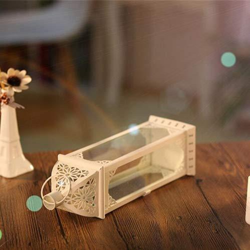 Glas-datenträger (Wmshpeds Europäischer Stil, Glas Eisen, Leuchter, Datenträger Kerzen Wind grosse, Möbel, Dekoration,)