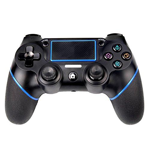 Sades Controller PS4 Gamepad Wireless per Playstation 4 / per Playstation 3 / PC con doppia vibrazione e cavo USB