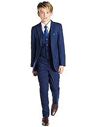 Paisley of London, Niños Azul Traje, Graduación Trajes, Página Juegos Del Muchacho, 12-18 meses - 13 años