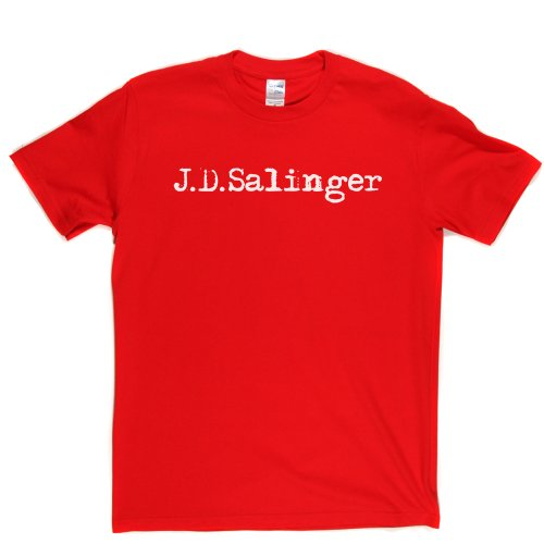 J D Salinger American Writer T-shirt Rot