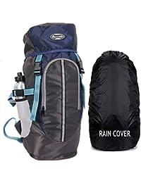 POLESTAR Hike Grey Rucksack with RAIN Cover/Trekking/Hiking BAGPACK/Backpack Bag