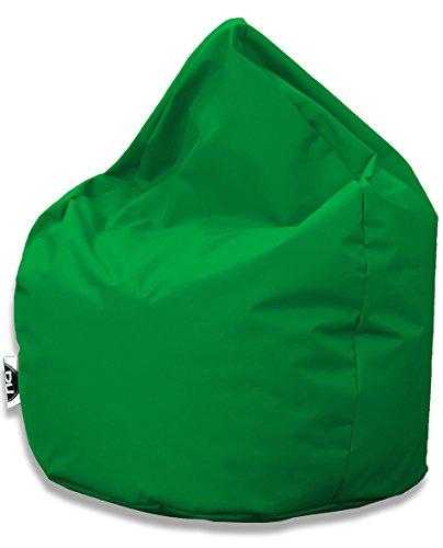 Sitzsack Tropfenform für In & Outdoor | XXL 420 Liter - Grün - in 25 versch. Farben und 3 Größen