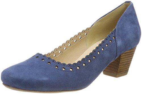 Andrea Conti Hirschkogel by Damen 3003413 Pumps, Blau (Jeans), 38 EU