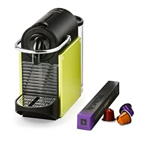 Nespresso Pixie Coffee Machine by Magimix - Lime Green